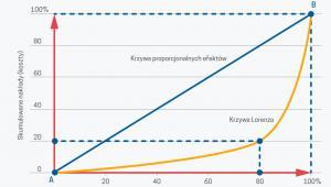 Ilustracja zasadu 80/20 (graf. Obserwator Finansowy)