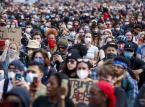Darmowa woda i środki dezynfekujące. Na protestach w Waszyngtonie rozwija się samopomoc [REPORTAŻ]